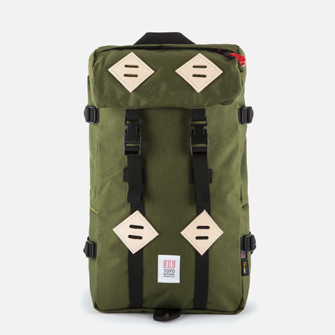 Topo Designs Klettersack Olive front view