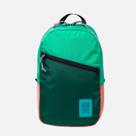 Topo Designs Light Pack Mint Forest Coral