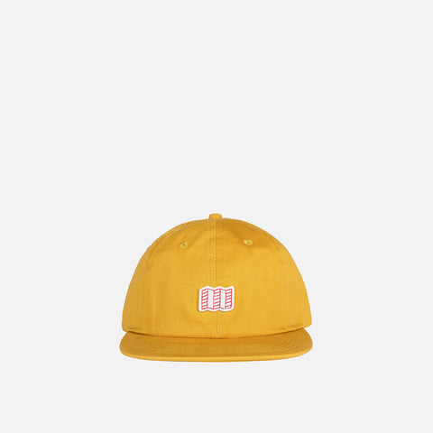 Topo Designs Mini Map Hat Mustard front view