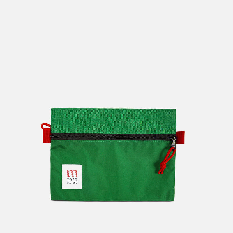 Topo Designs Accessory Bag M Green Front