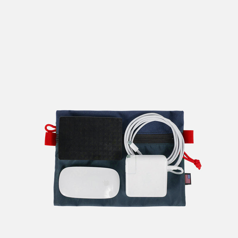 Topo Designs Bag Accessory Navy Medium cables