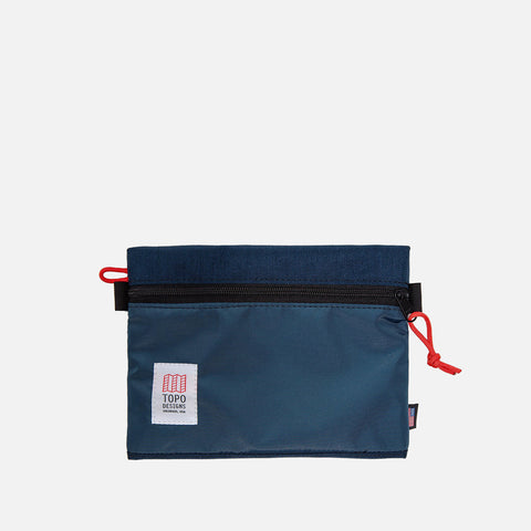 Topo Designs Bag Accessory Navy Medium opened