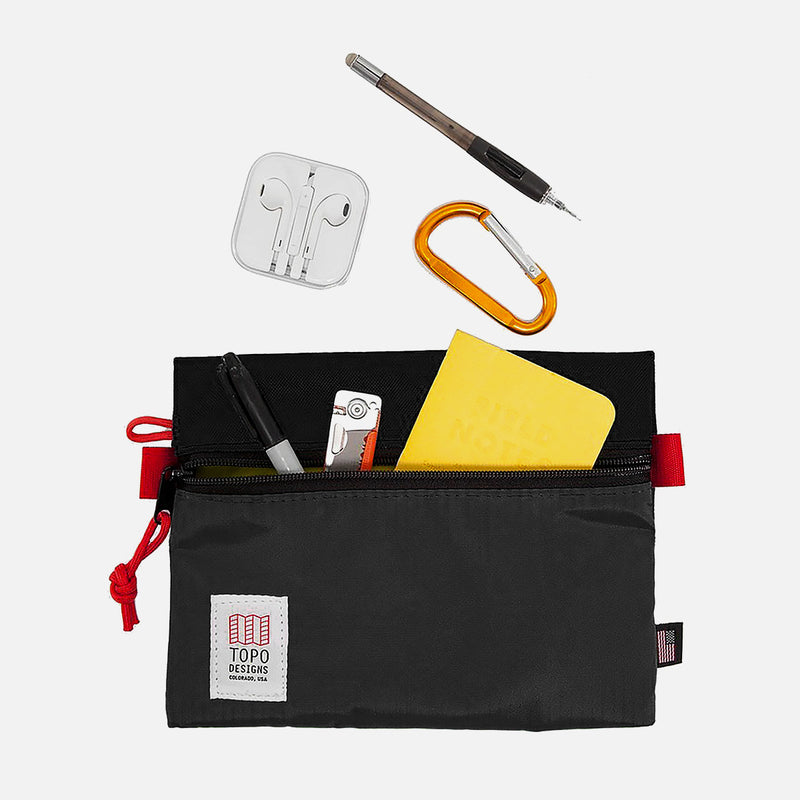 Topo Designs Bag Accessory Black Medium organisation