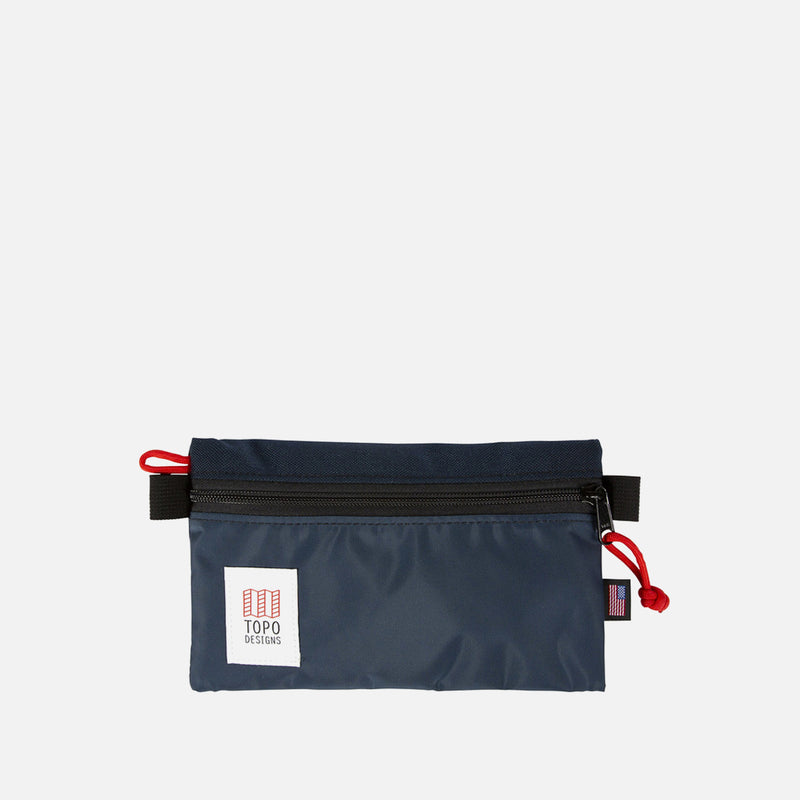 Topo Designs Accessory Bag s Navy front view