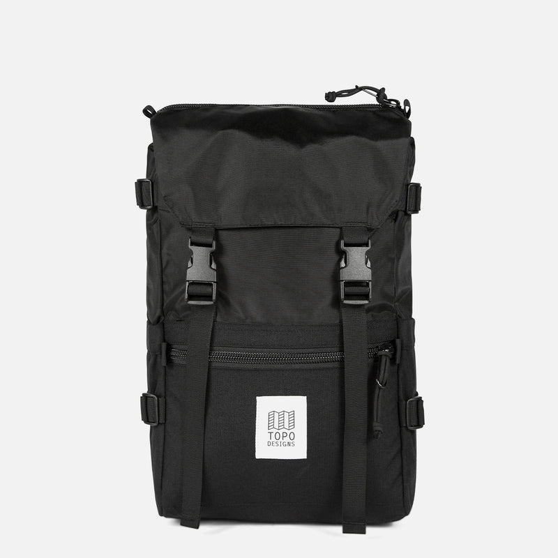Topo Designs Rover Pack Black front view