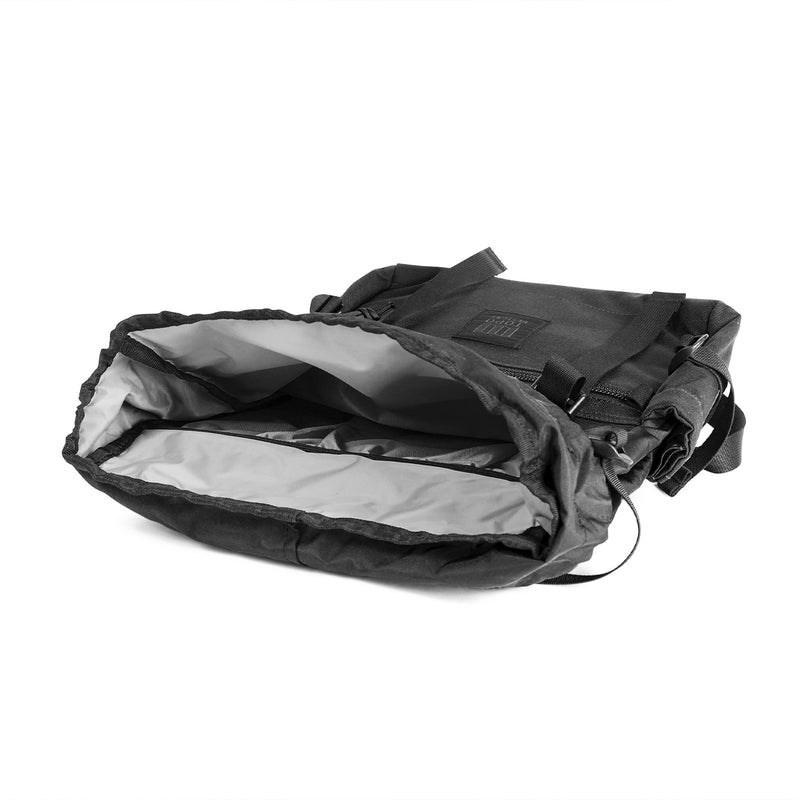 Topo Designs Rover Pack Black inside view