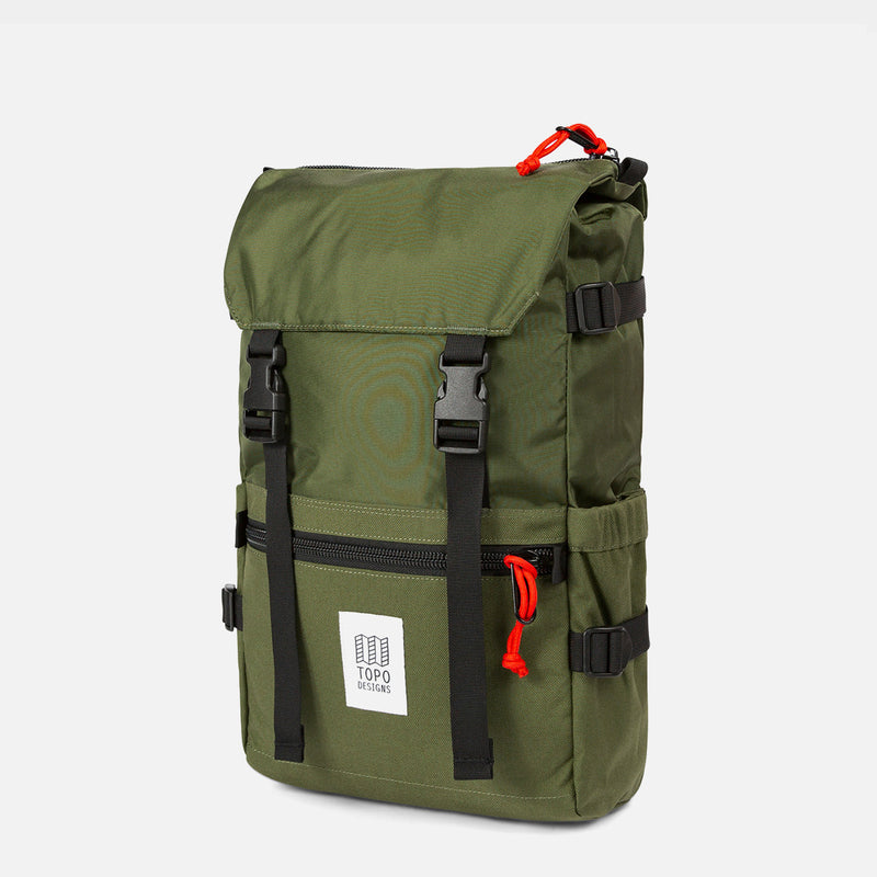 Topo Designs Rover Pack Olive front view