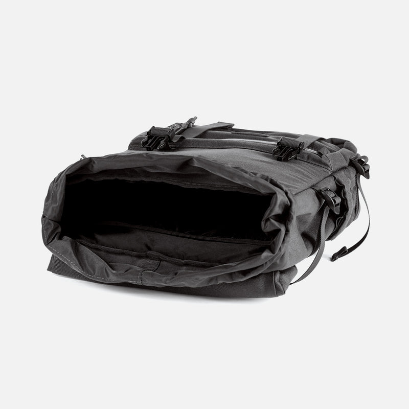 Topo Designs Rover Pack Tech Black inside view