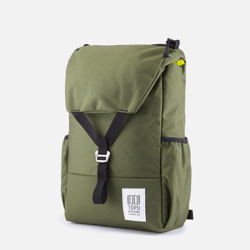 Topo Designs Y Pack Olive front