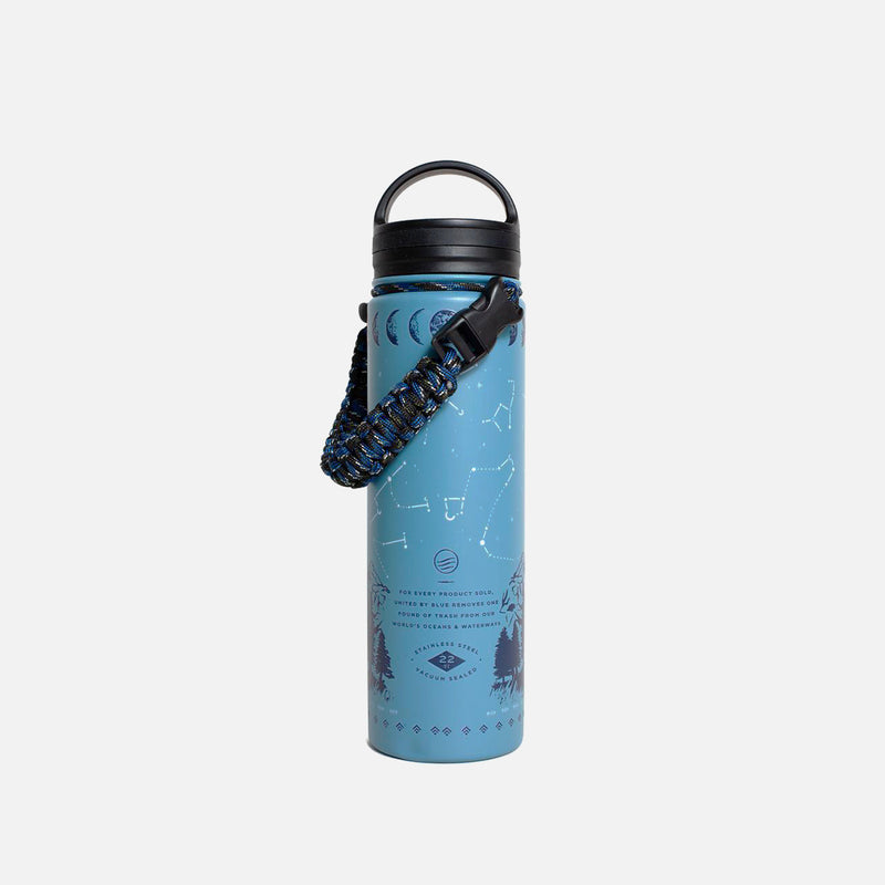 United By Blue Insulated Steel Bottle Stargazer back view