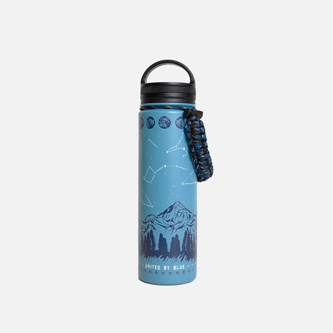 United By Blue Insulated Steel Bottle Stargazer front view