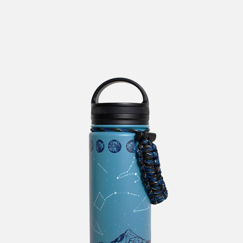 United By Blue Insulated Steel Bottle Stargazer handle view
