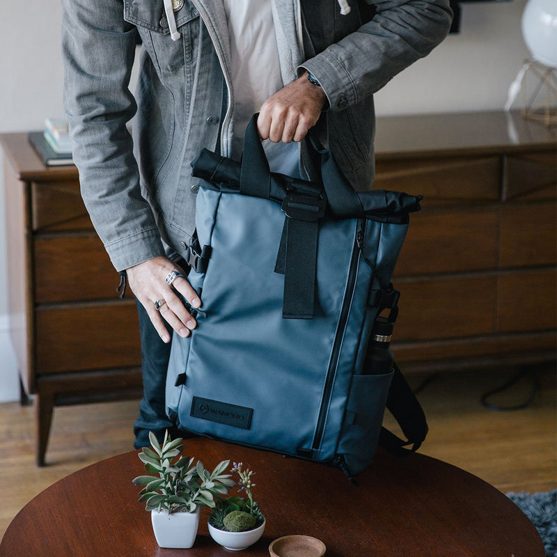 Wandrd Backpack Prvke 21L Blue handle