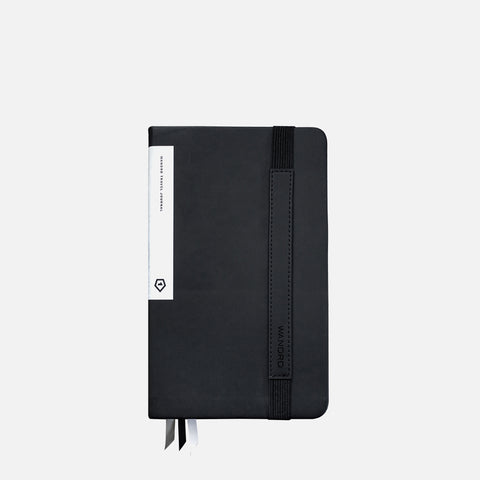Wandrd Travel Journal Black front view