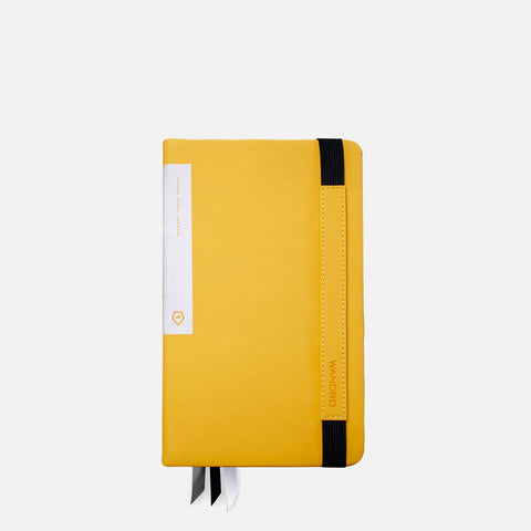 Wandrd Travel Journal Yellow front view