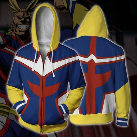 My Hero Academia Cosplay Zipper Hoodie Sweatshirt FSM 0885 | FullStylishMall