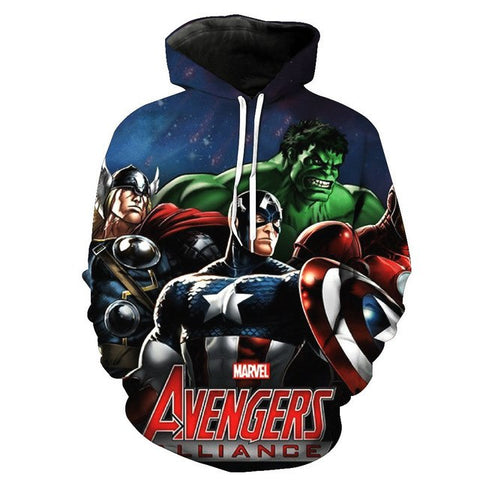 Image of AVENGERS HOODIES