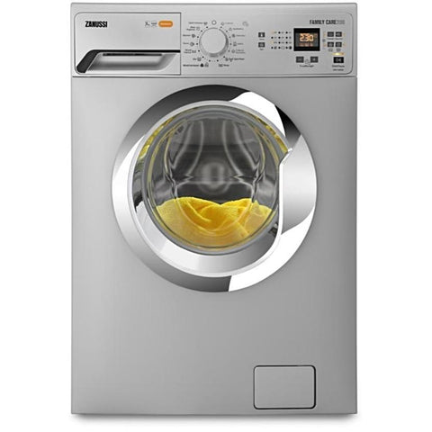 6 KG SILVER FRONT LOADER AUTOMATIC WASHING MACHINE ZWF60830SX + Free Gel Detergent + Free Cover