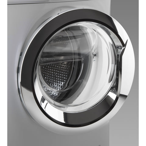 7 KG SILVER FRONT LOADER V-STEAM AUTOMATIC WASHING MACHINE