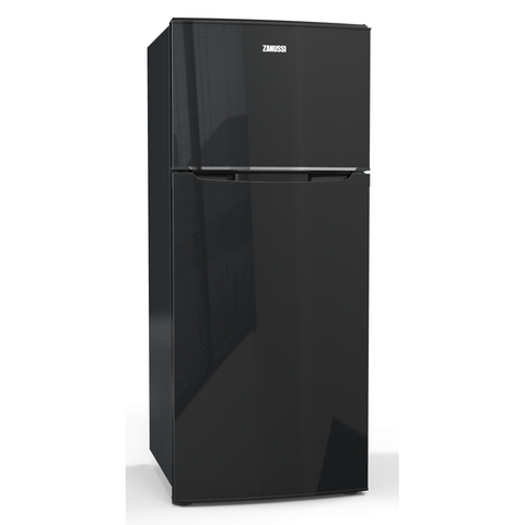 437 L. 2 Doors No frost Black Crispo Fridge