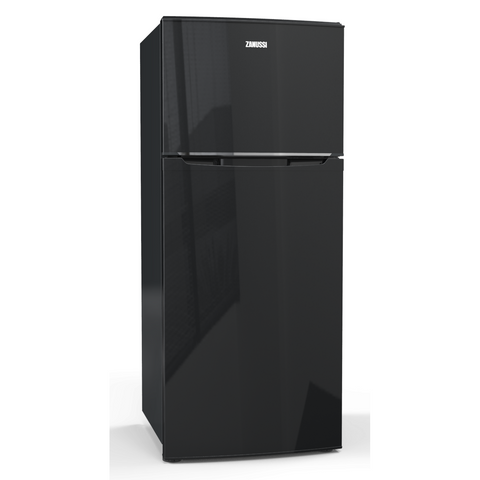 406 L. 2 Doors No frost Black Crispo Fridge