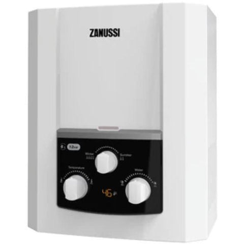 6 L WHITE GAS WATER HEATER NATURAL DISCHARGE