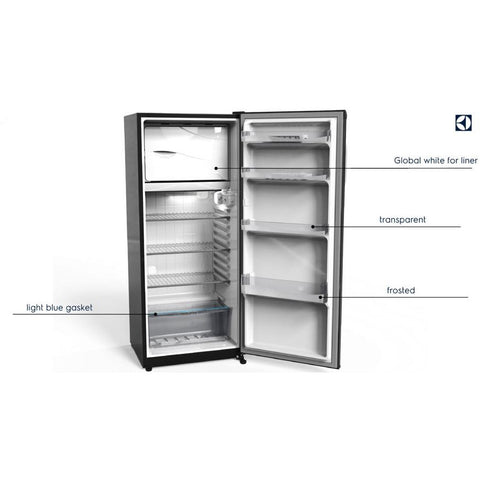 1 Door 320 L. Black Fridge ZRA32103BA