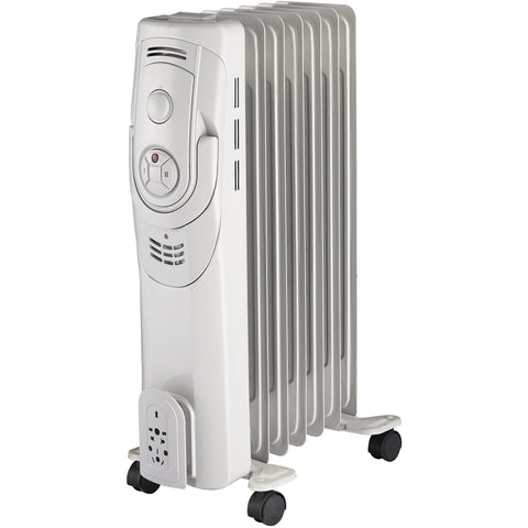 7 Fin Mechanical White Oil Radiator