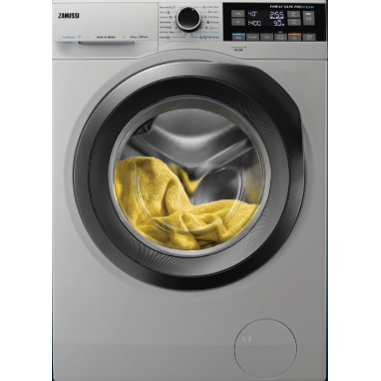 10 KG / 6 KG Dryer PRO-STEAM SILVER FRONT LOADER WITH DRYER 1600 RPM SILVER DOOR ZWD11683NS