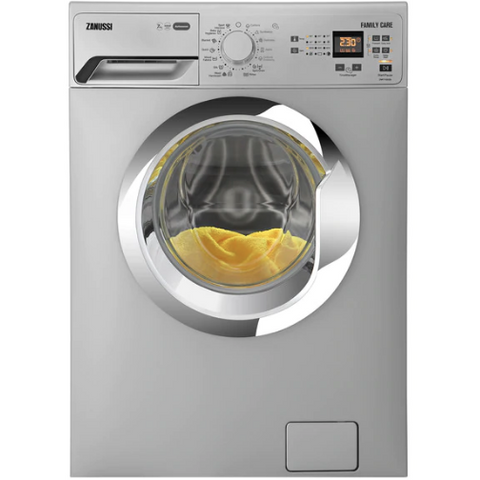 7 KG SILVER FRONT LOADER AUTOMATIC WASHING MACHINE ZWF71030SX