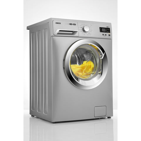 8 KG SILVER FRONT LOADER AUTOMATIC WASHING MACHINE ZWF81240SX