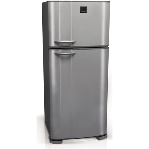 370 L. PRIMA SILVER NO FROST FREE STANDING FRIDGE FREEZER C5 TECHNOLOGY