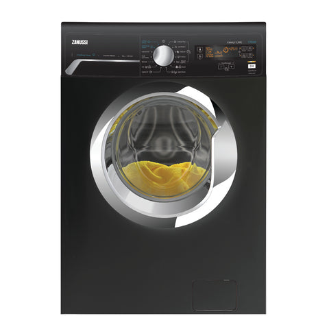 7 KG BLACK FRONT LOADER INVERTER LOOK  AUTOMATIC WASHING MACHINE ZWF7240BXV