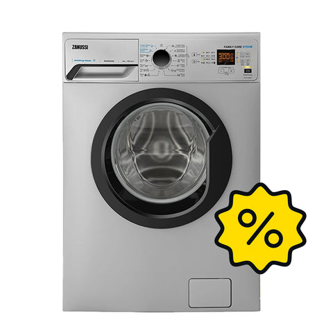 7 KG SILVER AUTOMATIC WASHING MACHINE ZWF7030SBV
