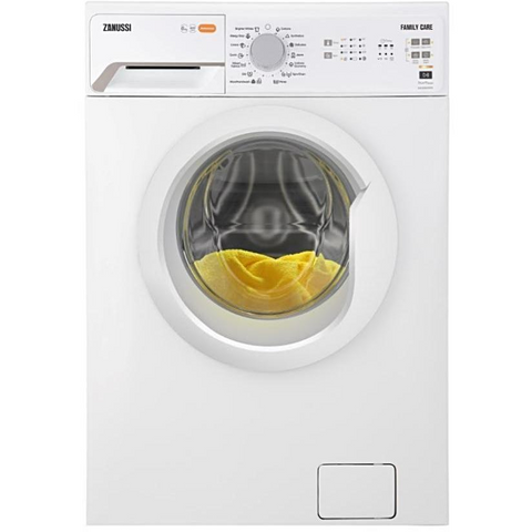 5 KG WHITE FRONT LOADER AUTOMATIC WASHING MACHINE ZWF50820WW + Free Gel detergent + Free Cover
