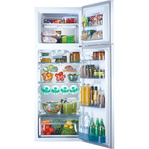 370 L. PRIMA ARTIC SILVER NO FROS FREE STANDING FRIDGE FREEZER C5 TECHNOLOGY