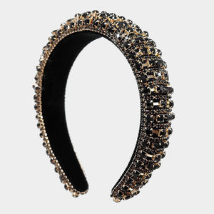 Black Sparkle Headband