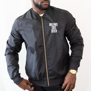 Brilliance Stays Driven lightweight Jacket