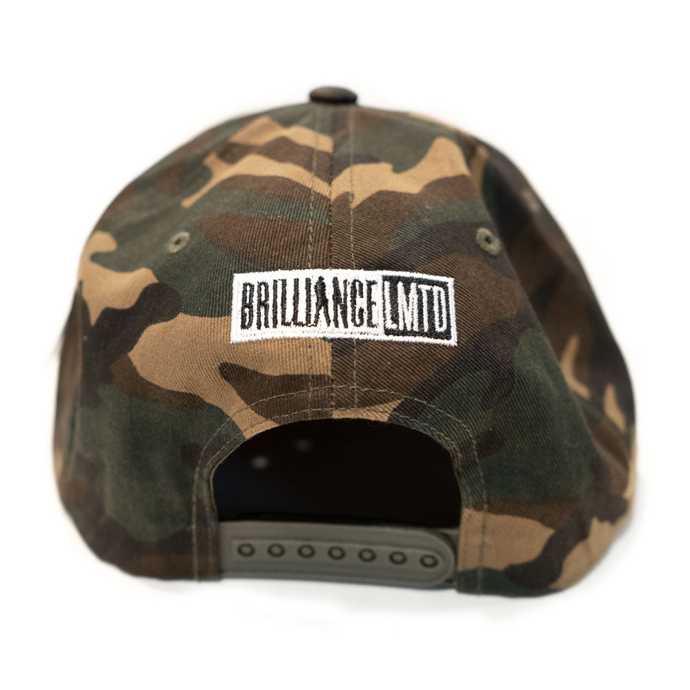 Brilliance Camo Snapback (Flat embroidery)