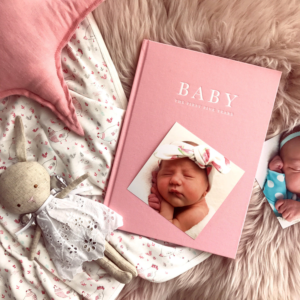 Birth To Five Years (Pink) // Baby Journal