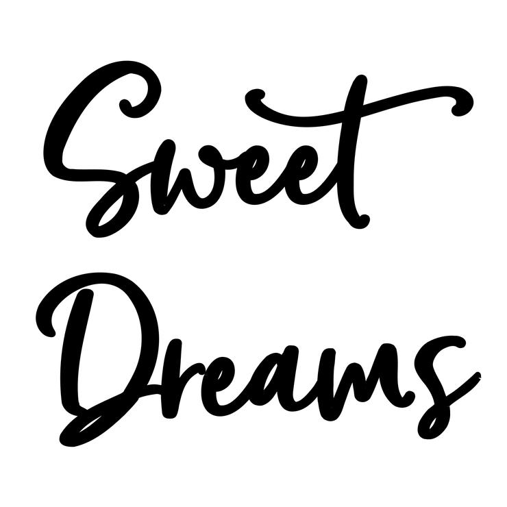 Sweet Dreams // Wall Script