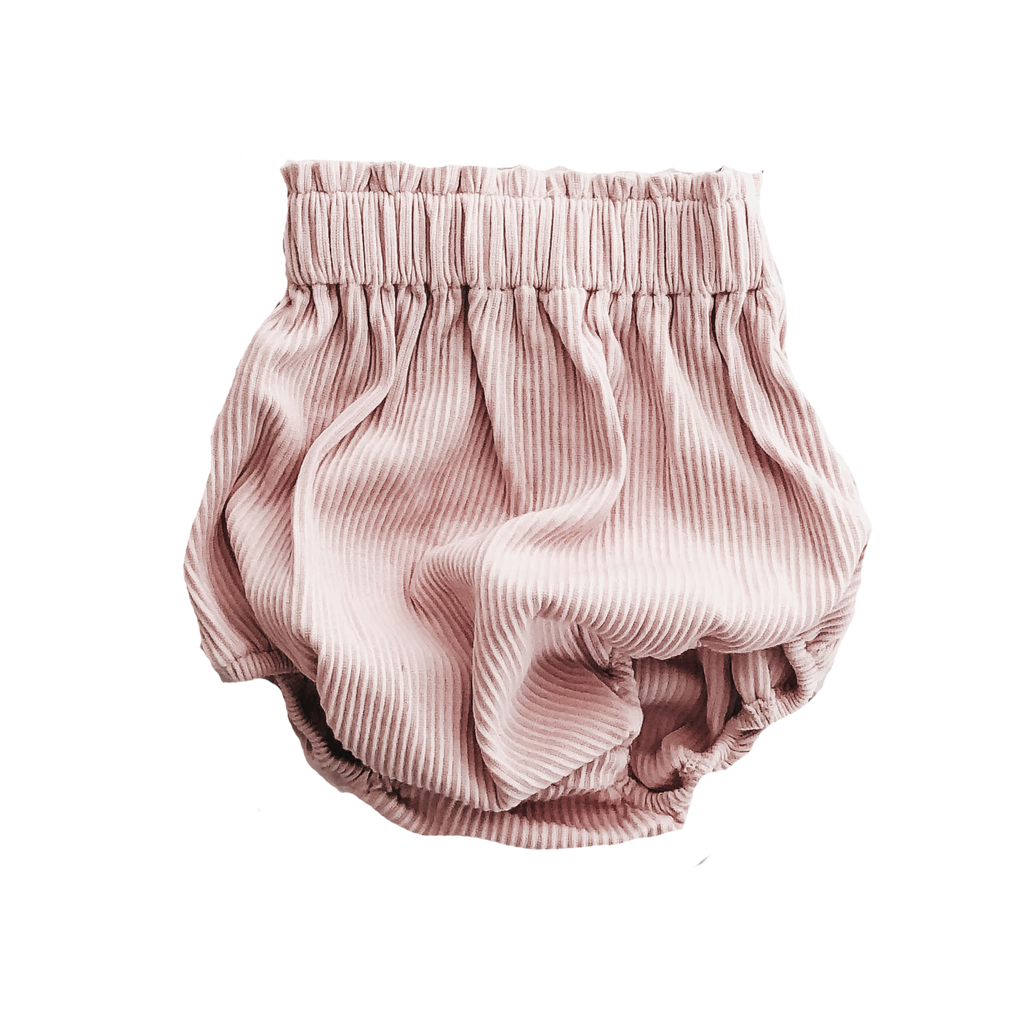 Rose // Ribbed Bloomers