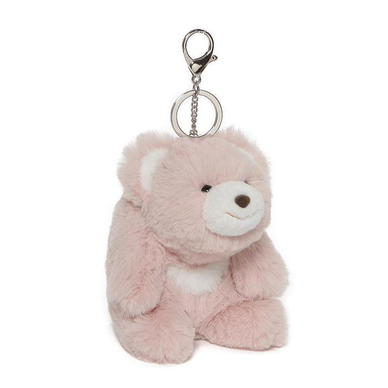 Snuffles Keychain, Pink, 5 Inches