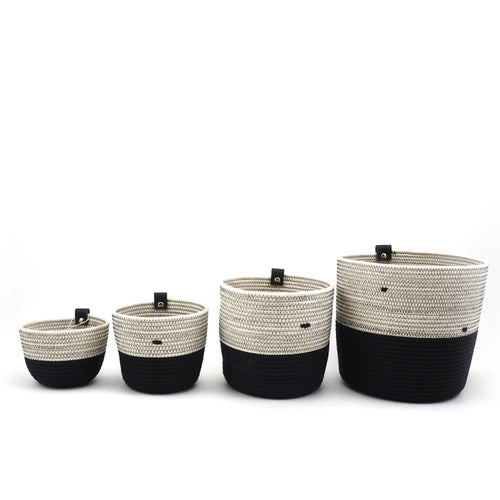 Planter Black & White