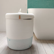 Load image into Gallery viewer, Laundry Basket Turquoise