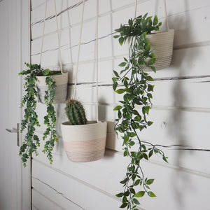 Hanging planters Bordeaux Salmon