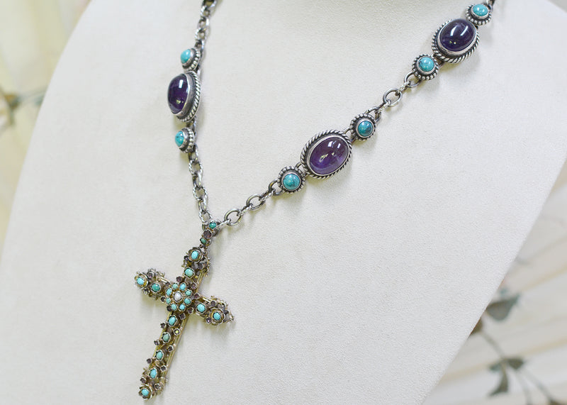 Austro Hungarian Cross Necklace