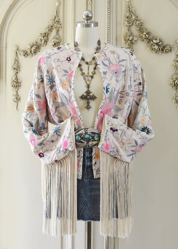 CALLIE FRINGE JACKET-101-0562