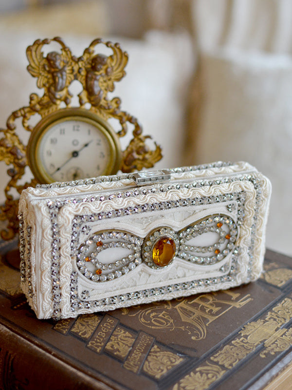 Citrine French Paste Minaudiere