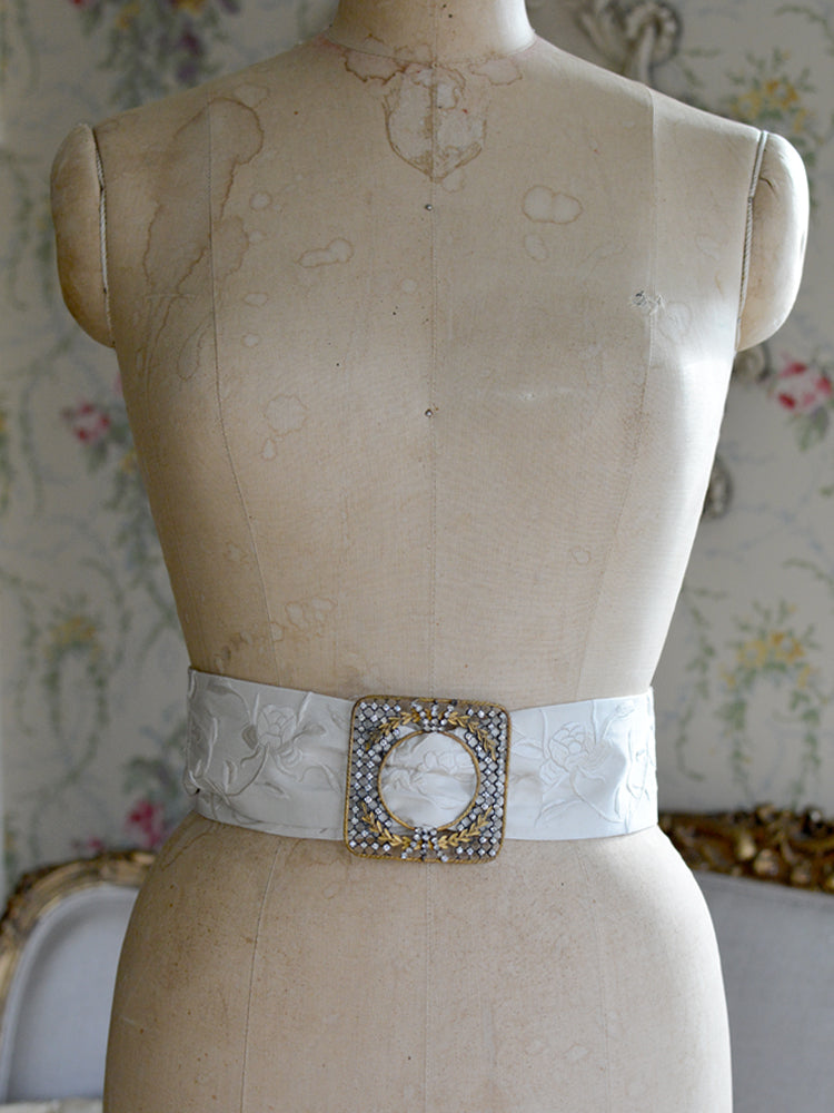 Georgian French Paste & Crem Mucha Belt